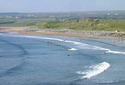 Surfing at Lahinch