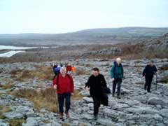 Hill Walking in the Burren
